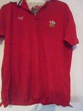 Wales  Rugby Union Cotton Traders Shirt Adult Size XL /41331