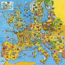 Unbranded Maps 100 - 249 Pieces Jigsaw Puzzles