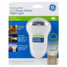 Rechargeable LED Power Failure Night Light, 3-in-1, Flashlight, Emergency, Handy