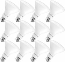 MaxLite BR30 LED Flood Light Bulbs 8W(65W) Dimmable 650lm Soft White 12-Pack
