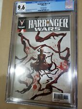 Harbinger Wars #4 Perger variant cover CGC 9.6