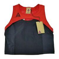 Nike ACG Crop Sports Bra Top Women's Size M / L Red Black CK6868-657