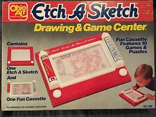 Vintage 1981 ETCH A SKETCH DRAWING & GAME CENTER By Ohio Art Made In The USA