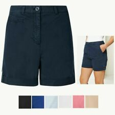 NWTG Marks /& Spencer SIZE 14 Ladies cotton Summer Shorts sits on the waist
