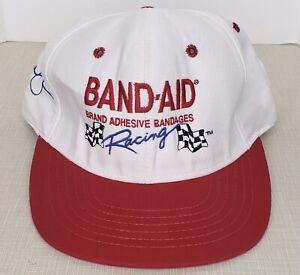 Vintage Michael Waltrip Hat 21 Band Aid Racing Snapback Cap Nascar USA