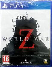 Sft PS4-World War Z PS4 Juego Nuevo
