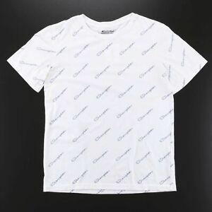 CHAMPION  White Logo Short Sleeve T-Shirt Boys XL