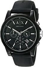Armani Exchange Black Chronograph Watch AX1326