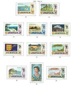 Jersey 1969-70 set of 15 mint