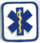 EMT - STAR OF LIFE - IRON ON PATCH