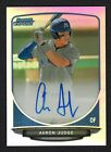 2013 Bowman Chrome Draft AARON JUDGE Refractor Auto RC Autograph Rookie YANKEES
