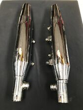 Par de genuina Harley Davidson Sportster Cromado Escape Usado Silenciadores Evo 883