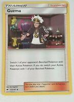 Guzma Pokemon Card - 115/147 Burning Shadows Trainer - Near Mint