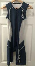 2Xu Mens Compression Triathlon Tri Suit Sleeveless Blue, Size Medium, Euc
