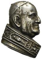 Vatican Pope Giovanni XXIII 1958-1963 Placchetta Silver Rare.