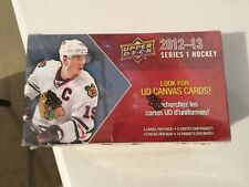 2012/13 UPPER DECK SERIES 1  HOCKEY BOX FACT SEALD