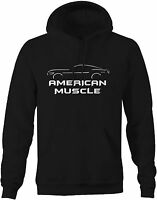 American Muscle Car Mustang Cobra Shelby Hoodie Men Hoodie