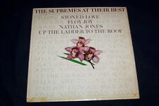 THE SUPREMES  LP THE SUPREMES AT THEIR BEST