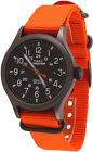 Timex TW4B04600 Men's Expedition Scout Military Indiglo Slip-Thru Band Watch