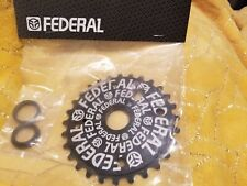 Federal logo SOLID SPROCKET BMX 28t Bike gear Fit 19mm 22mm 24mm S&M SE GT new