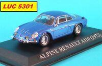 RENAULT ALPINE A110 1973 PAR IXO POUR ALTAYA NOS CHERES VOITURES D'ANTAN AU 1/43