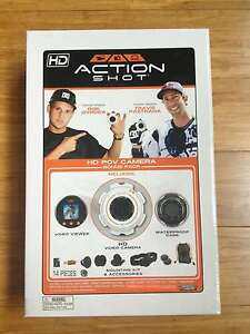 Action Shot HD POV Camera Bonus Pack (Includes HD Video Camera, Viewer, Case, Me