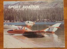 Sport Aviation Magazine September 1975 EAA The Osprey 2 Sportplane Warbirds