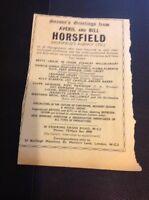 L1-2 Ephemera 1956 Advert Variety Artist Averil And Bill Horsefield