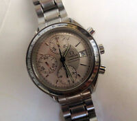 Omega Speedmaster Watch Mens Chronograph Automatic 175.0083  Movement 1152