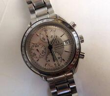 Mens Omega Speedmaster Wrist Watch 175.0083 Automatic Movement 1152 Chronograph