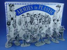 ARMIES IN PLASTIC American Revolution French Army Toy Soldiers 16 Figures 1/32