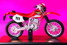 HONDA   XR400R  1/18th  MODEL  MOTORCYCLE  RED