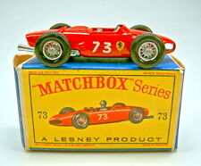 "Matchbox RW 73b ferrari racing car rouge dans ""D"" BOX"