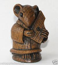 Ratón de iglesia músico Medieval psaltery Hecho A Mano Musical Coleccionables De Música De Regalo