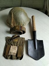 A set  SSH 68 helmet, small sapper shovel, belt.
