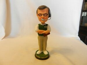 Coach Mike sherman Green Bay Packers Bobble Head Figurine LE Legend of the Field