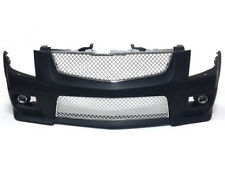 Cadillac 08-13 CTS-V Style Front Bumper w/ Chrome Front Grille with FOG Lights