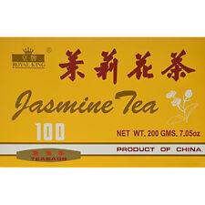 Royal King Jasmine Tea 100 Tea Bags