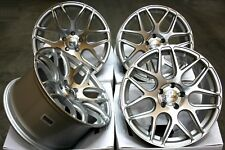 """18"""" ALLOY WHEELS CRUIZE CR1 SP SILVER POLISHED CONCAVE STAGGERED 5X120 18 INCH"""
