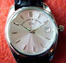 Edle Armbanduhr - Häusser & Sachs Eins - einzelnummeriertes Sammlerstück, NEU