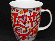 DUNOON LANGUAGE OF LOVE Fine Bone China NEVIS Mug #1