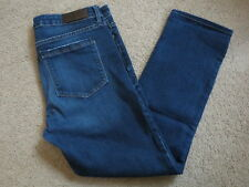 GREAT Parker Smith distressed straight denim blue jeans - womens 30