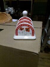 Pottery, Porcelain & Glass Vintage Arthur Wood Olive Toast Rack