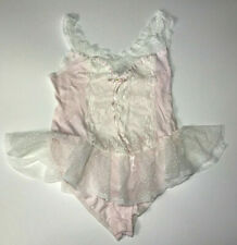 Vintage Lily Of France Sheer Sissy Lace Body Made in Usa