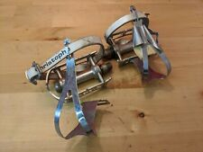MKS Sylvan SY-1 Pedals Lapize Special Toe-Clips Christophe Leather Straps K1