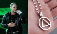 Music Eminem The Best RAPPER Grammy Titanium Steel Chain Rock Pop Necklace