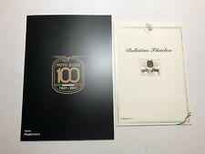 2021 Folder e Bollettino Filatelico Centenario Moto Guzzi