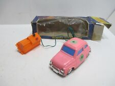1959 FIAT 500 ABARTH MINT IN BOX BATTERY OPERATED TESTED AND WORKS