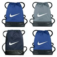 Nike Brasilia Sports Gymsack Training Bag Gym Sack Drawstring PE Team Kit