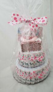 Diaper Cake Girl Huggies